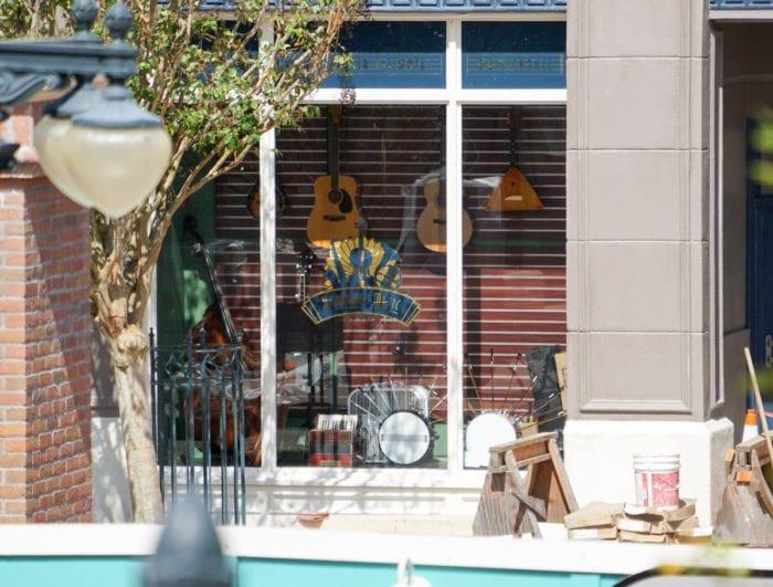 Grand Avenue Construction music shop