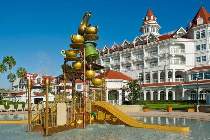 Grand Floridian Resort and Spa Pool Refurbishment