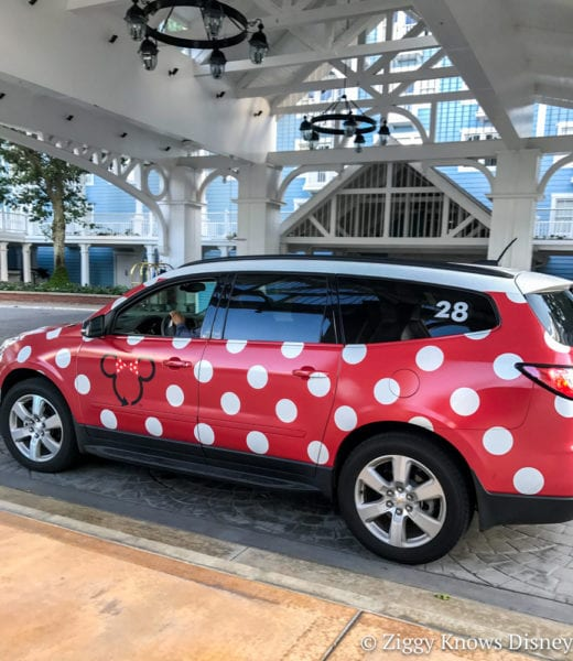 Minnie Vans Now Available at Disney's Polynesian Resort