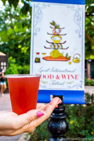 REVIEW: Pomegranate Beer – Brewer's Collection 2017 Epcot Food and Wine Festival