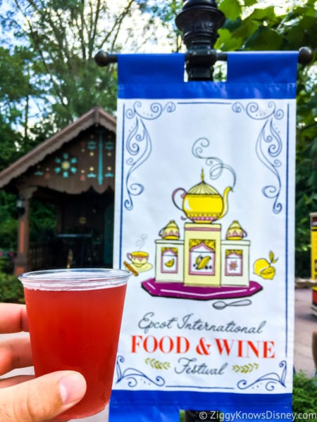Pomegranate Beer Review 2017 Epcot Food and Wine Festival best of the festival