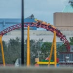 Slinky Dog Dash Coaster Testing Begins