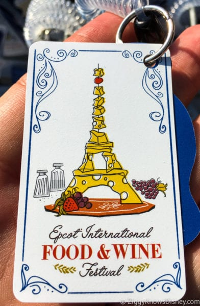 2017 Food and Wine Merchandise gift card front