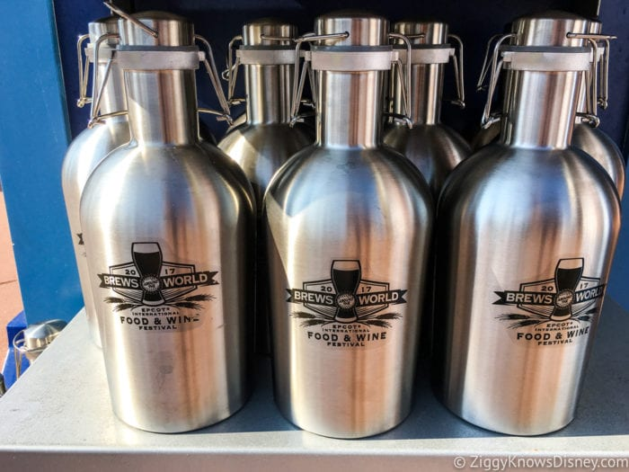 2017 Food and Wine Merchandise canisters