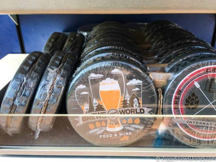 2017 Food and Wine Merchandise coasters