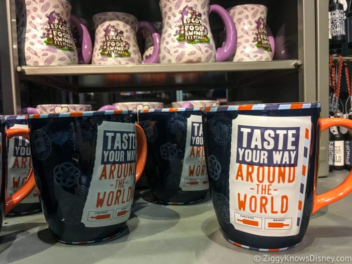 2017 Food and Wine Merchandise mugs