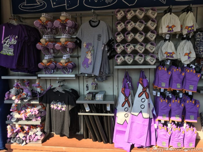 2017 Food and Wine Merchandise shelves figment