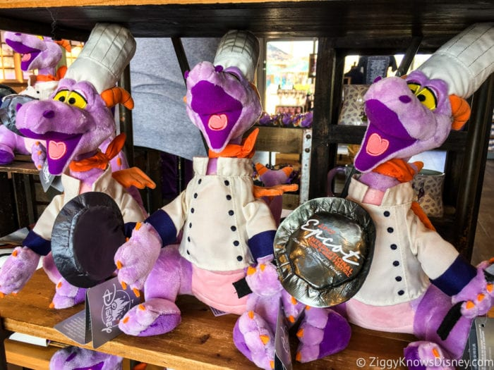 2017 Food and Wine Merchandise figment plush