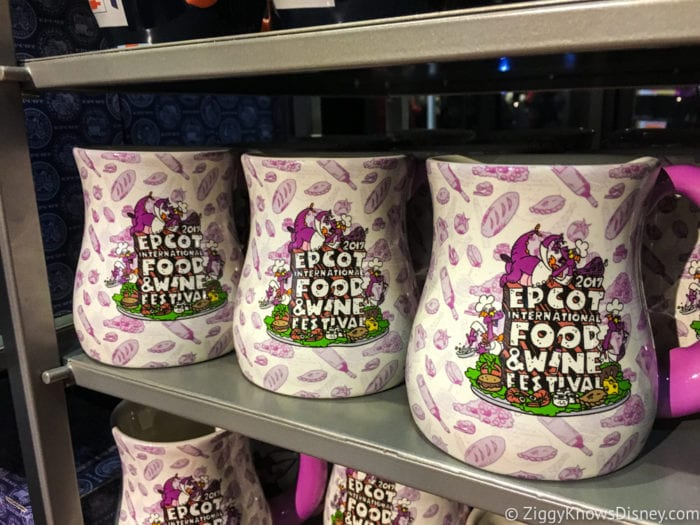 2017 Food and Wine Merchandise figment mugs