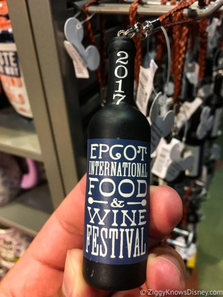 2017 Food and Wine Merchandise key chain bottle
