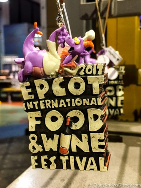 2017 Food and Wine Merchandise key chain figment