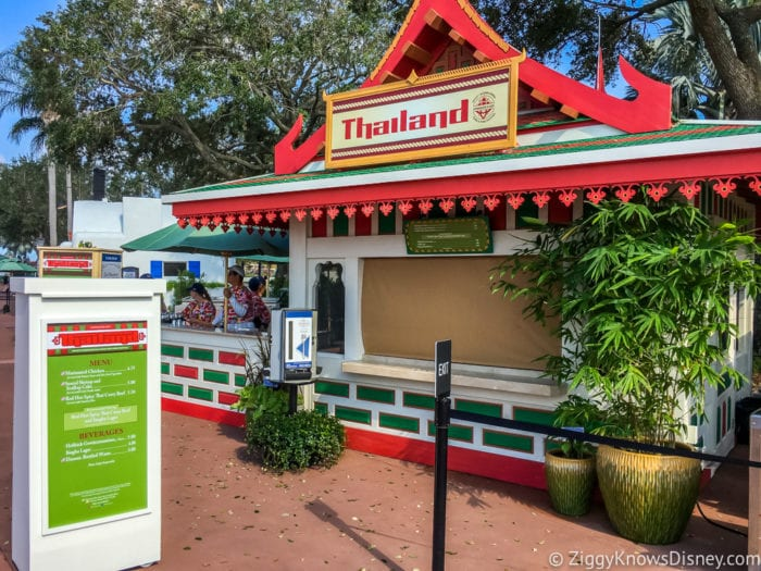 Thailand Review 2017 Epcot Food and Wine Festival Thailand Booth
