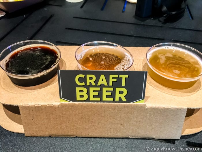 Craft Beer Review 2017 Epcot Food and Wine Festival Eastern Florida Flight