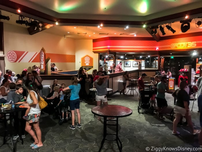 Craft Beer Review 2017 Epcot Food and Wine Festival Epcot Legacy Showplace Tables