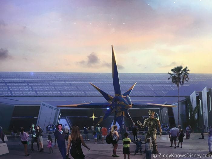 Craft Beer Review 2017 Epcot Food and Wine Festival Guardians of the Galaxy Coaster Concept Art