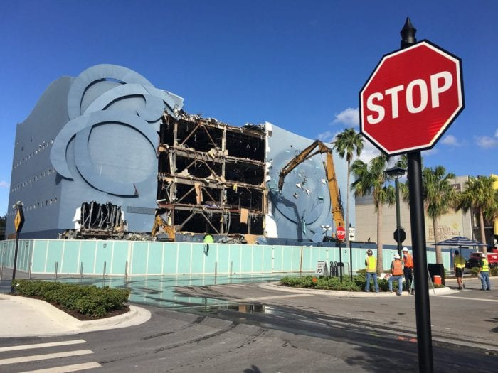 DisneyQuest Demolition Disney Springs
