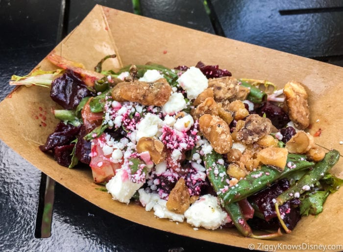 Farm Fresh Review 2017 Epcot Food and Wine Festival Roasted Beet Salad