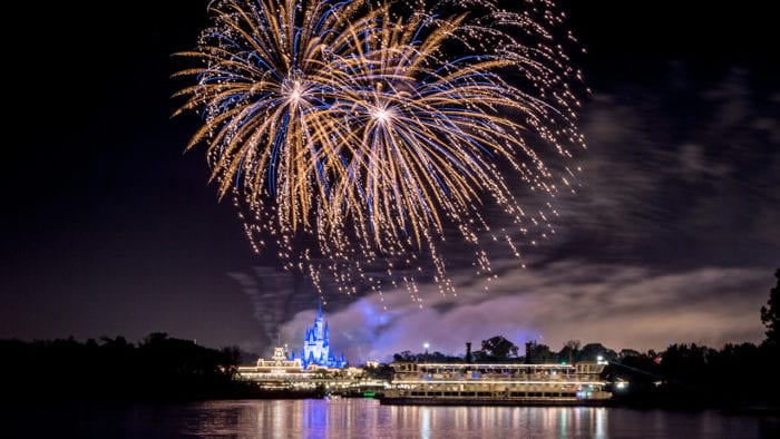 Ferrytale Fireworks A Sparkling Dessert Cruise Returns to Magic Kingdom