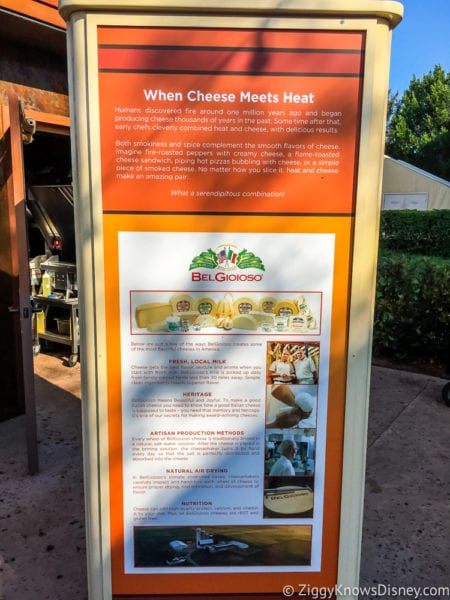 Flavors from Fire Review 2017 Epcot Food and Wine Festival cheese and heat