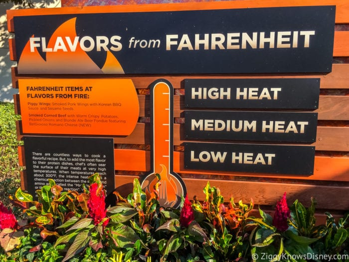 Flavors from Fire Review 2017 Epcot Food and Wine Festival flavors from heat