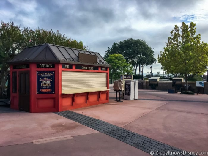 France Review 2017 Epcot Food and Wine Festival France Booth