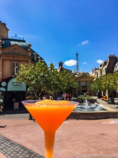 France Review 2017 Epcot Food and Wine Festival La Passion Martini Slushy
