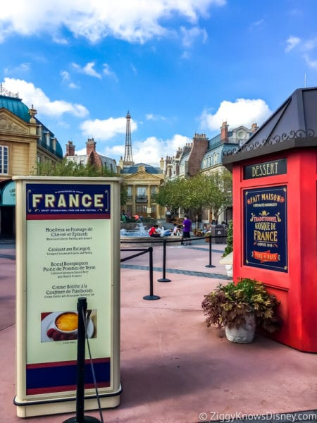 France Review 2017 Epcot Food and Wine Festival France Booth and Menu