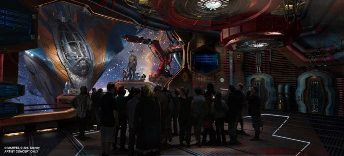 Guardians of the Galaxy Construction Walls