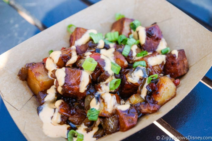 Hawaii Review 2017 Epcot Food and Wine Festival Teriyaki-glazed SPAM Hash
