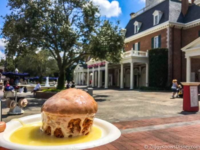 Hops and Barley Review 2017 Epcot Food and Wine Festival Carrot Cake in the American Adventure Pavilion