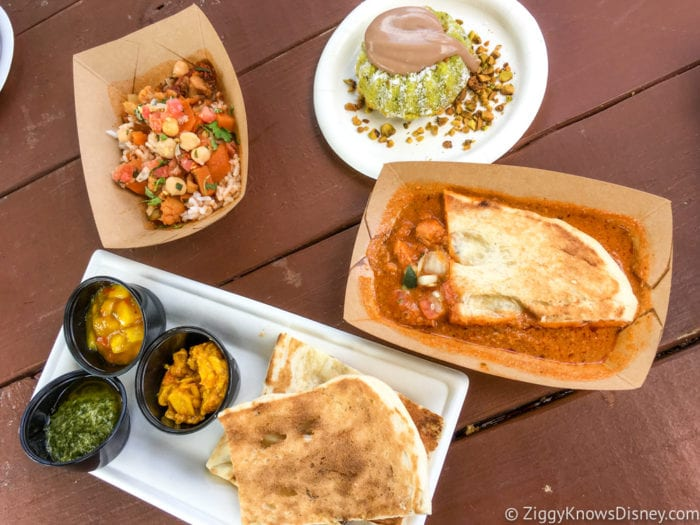 India Review 2017 Epcot Food and Wine Festival all the food at India Booth