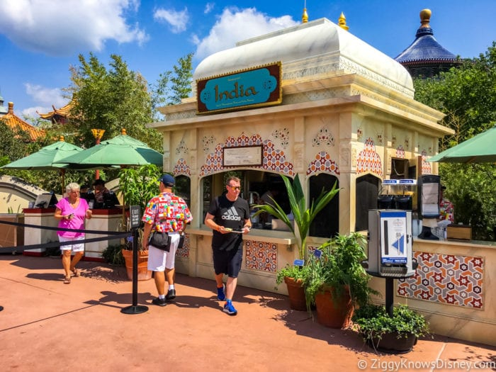 India Review 2017 Epcot Food and Wine Festival India Booth