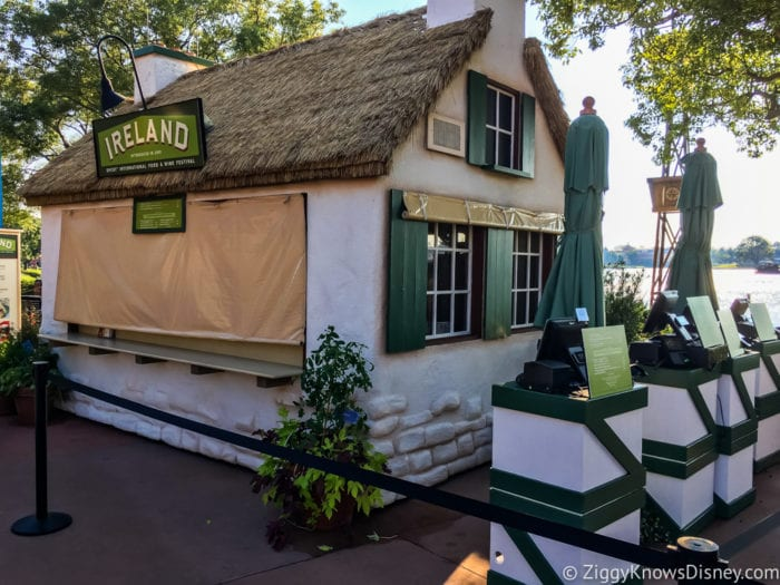 Ireland Review 2017 Epcot Food and Wine Festival Ireland Booth