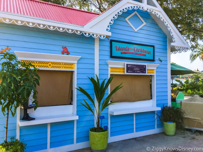 Islands of the Caribbean Review 2017 Epcot Food and Wine Festival Booth
