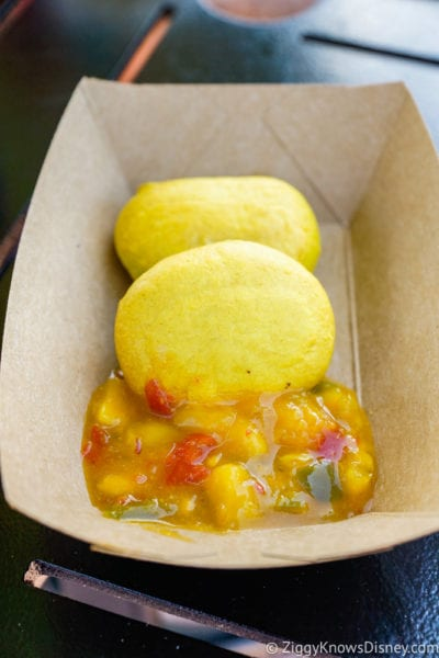 Islands of the Caribbean Review 2017 Epcot Food and Wine Festival Jamaican Beef Patties