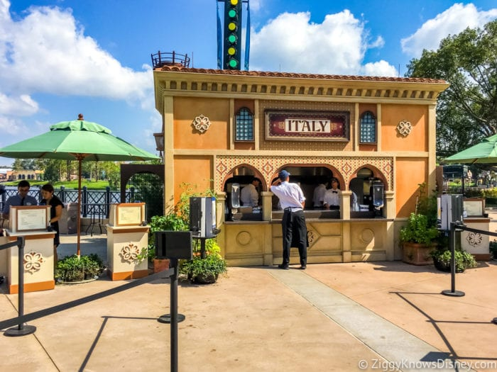 Italy Review 2017 Epcot Food and Wine Festival Italy Booth