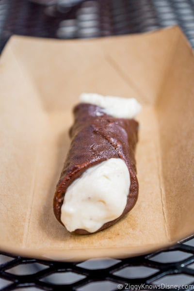 Italy Review 2017 Epcot Food and Wine Festival Chocolate Cannoli