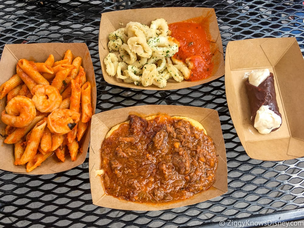 Big Italian Restaurants Near Me: REVIEW: Italy - 2017 Epcot Food And Wine Festival