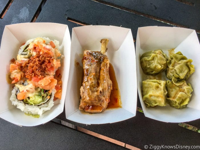 Japan Review 2017 Epcot Food and Wine Festival food