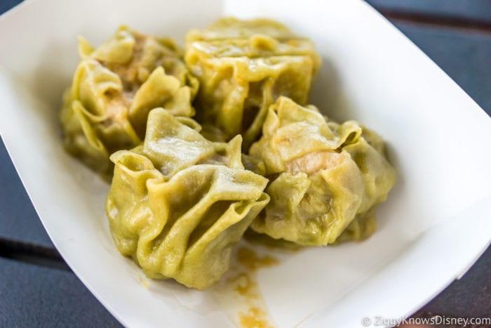 Japan Review 2017 Epcot Food and Wine Festival Wasabi Shumai Steamed Pork Dumplings