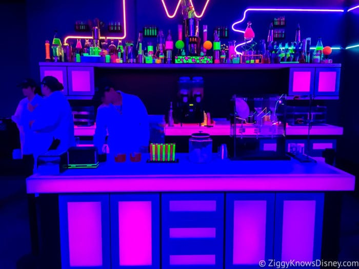 Light Lab Review 2017 Epcot Food and Wine Festival Light Lab Counter