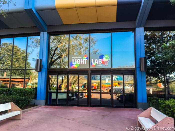 Light Lab Review 2017 Epcot Food and Wine Festival Light Lab building