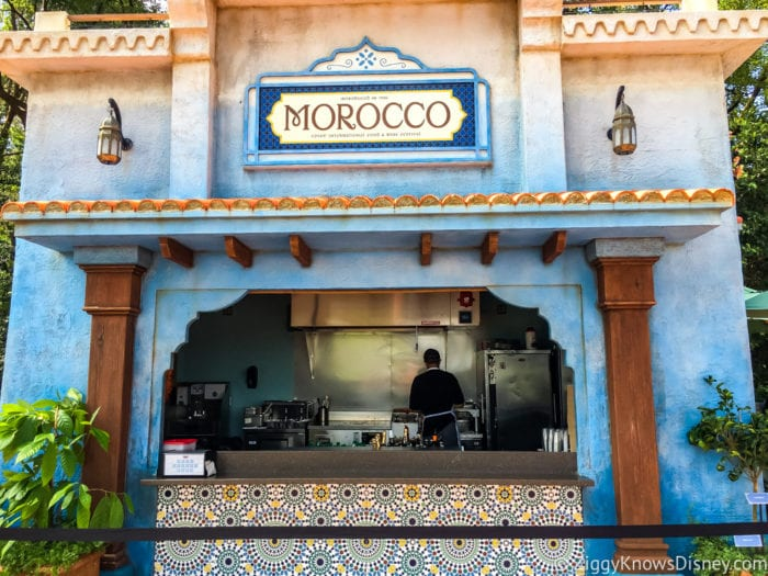 Morocco Review 2017 Epcot Food and Wine Festival Morocco Booth