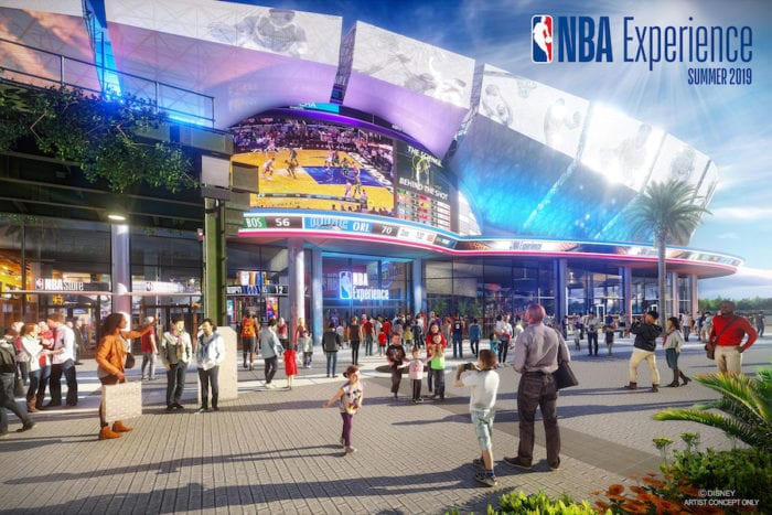 NBA Experience in Disney Springs front