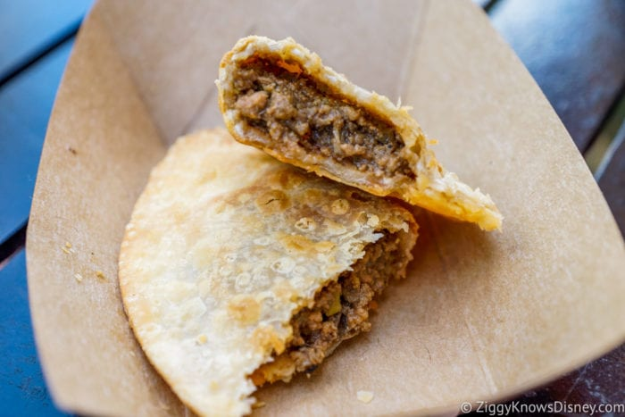 Patagonia Review 2017 Epcot Food and Wine Festival Beef Empanada Inside