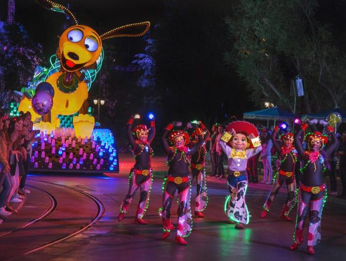 Pixar Fest Fireworks Show and Parades
