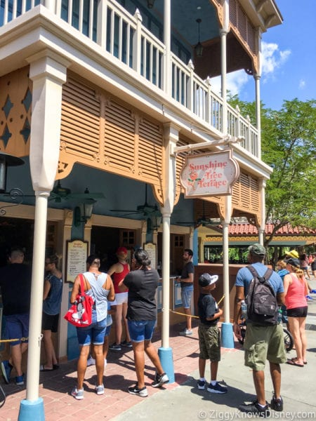 Citrus Swirl Float Review Sunshine Tree Terrace entrance
