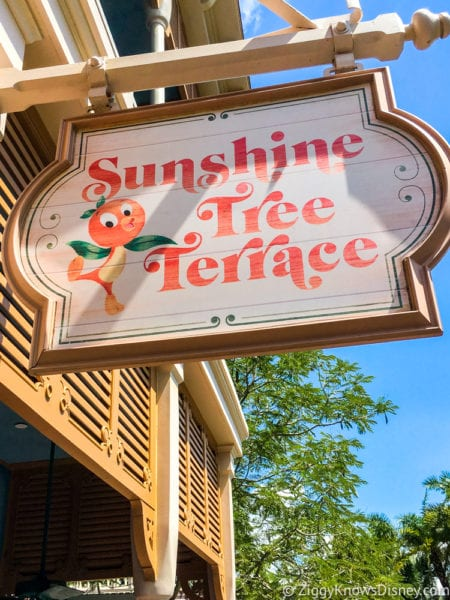 Citrus Swirl Float Review Sunshine Tree Terrace sign