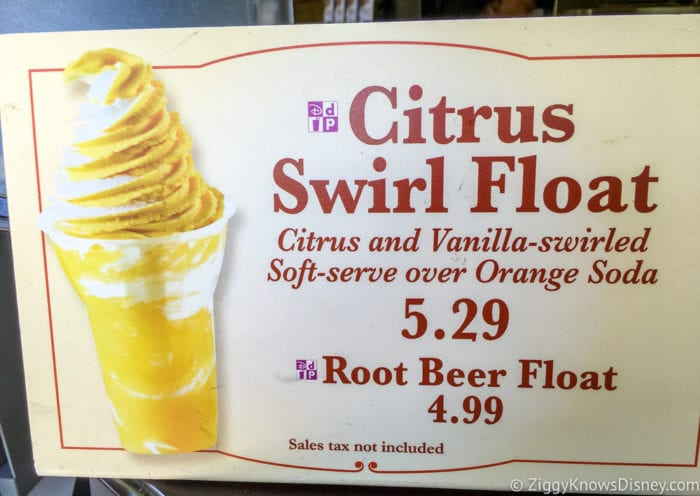 Citrus Swirl Float Review Sunshine Tree Terrace citrus swirl float sign