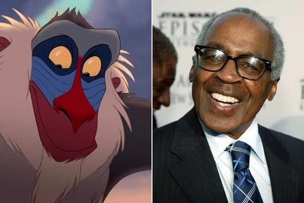 Robert Guillaume dies rafiki the lion king